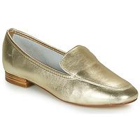 Cipők Női Mokkaszínek André JAELLE Arany