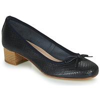Cipők Női Balerina cipők  André POEME Tengerész