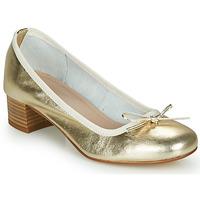 Cipők Női Balerina cipők  André POEME Arany