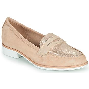 Cipők Női Mokkaszínek André EMERAUDINE Rózsaszín