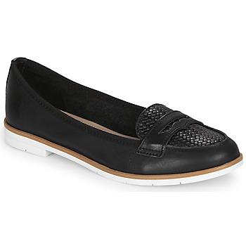 Cipők Női Mokkaszínek André JENESSA Fekete