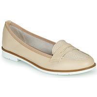 Cipők Női Mokkaszínek André JENESSA Bőrszínű