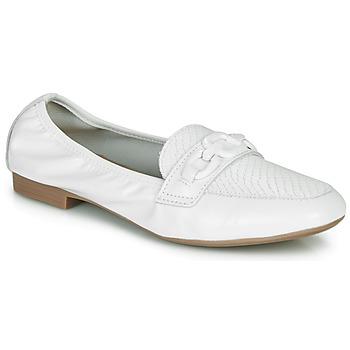 Cipők Női Mokkaszínek André MAYRA Fehér