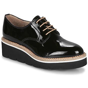 Cipők Női Oxford cipők André EMELINA Fekete  / Fényes