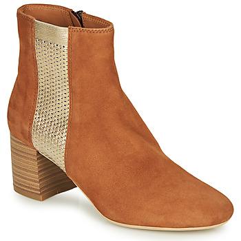 Cipők Női Csizmák André BINDY Teve