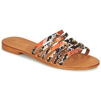 Cipők Női Szandálok / Saruk André BRAIDINE Narancssárga