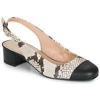 Cipők Női Balerina cipők  André POEMETTE Bézs
