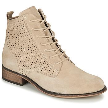 Cipők Női Csizmák André GODILLINE Bézs