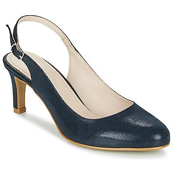 Cipők Női Félcipők André POMARETTE Tengerész