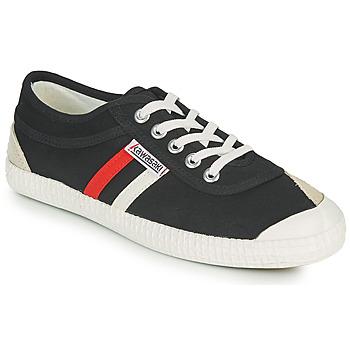 Cipők Rövid szárú edzőcipők Kawasaki RETRO Fekete  / Fehér