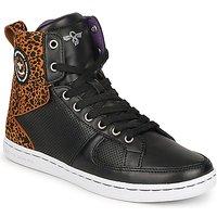 Cipők Női Magas szárú edzőcipők Creative Recreation W SOLANO Fekete