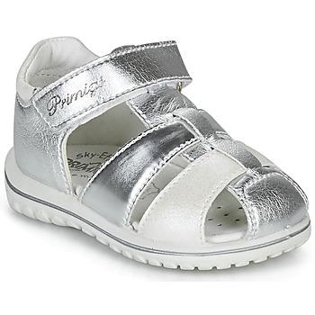 Cipők Lány Szandálok / Saruk Primigi 5365555 Ezüst
