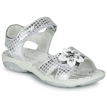 Cipők Lány Szandálok / Saruk Primigi 5383533 Ezüst