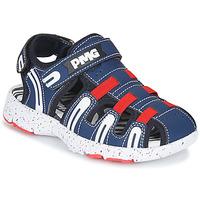 Cipők Fiú Sportszandálok Primigi 5461611 Tengerész / Piros