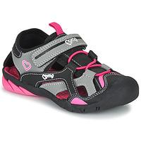 Cipők Lány Sportszandálok Primigi 5460011 Fekete  / Rózsaszín