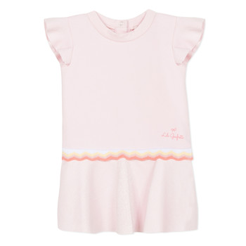 Ruhák Lány Rövid ruhák Lili Gaufrette NARITTE Rózsaszín