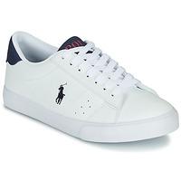 Cipők Gyerek Rövid szárú edzőcipők Polo Ralph Lauren THERON Fehér