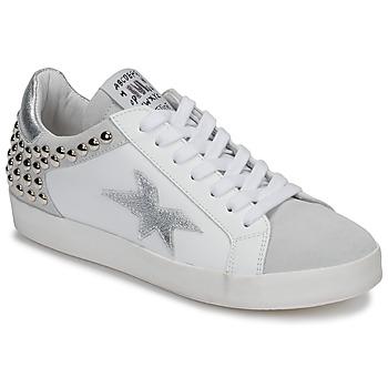 Cipők Női Rövid szárú edzőcipők Meline GELLABELLE Fehér