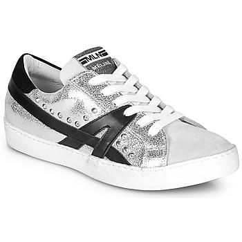 Cipők Női Rövid szárú edzőcipők Meline GELOBELO Ezüst