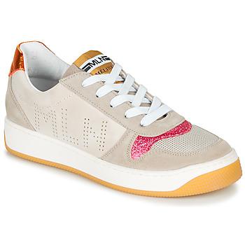 Cipők Női Rövid szárú edzőcipők Meline GEYSON Bézs