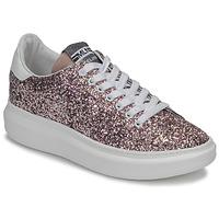 Cipők Női Rövid szárú edzőcipők Meline GEYSI Fényes / Rózsaszín