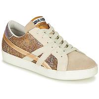 Cipők Női Rövid szárú edzőcipők Meline GALLI Arany