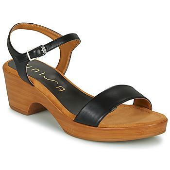 Cipők Női Szandálok / Saruk Unisa IRITA Fekete
