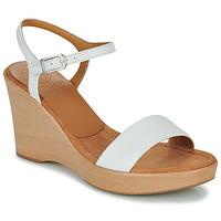 Cipők Női Szandálok / Saruk Unisa RITA Fehér