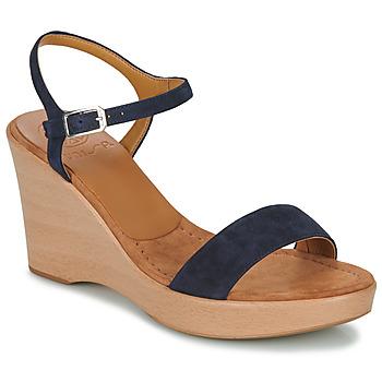 Cipők Női Szandálok / Saruk Unisa RITA Tengerész
