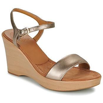 Cipők Női Szandálok / Saruk Unisa RITA Ezüst