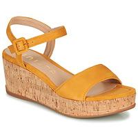 Cipők Női Szandálok / Saruk Unisa KOME Citromsárga
