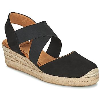 Cipők Női Szandálok / Saruk Unisa CELE Fekete