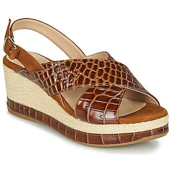 Cipők Női Szandálok / Saruk Unisa KASTRO Teve