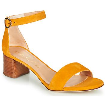 Cipők Női Szandálok / Saruk Unisa GELETE Citromsárga