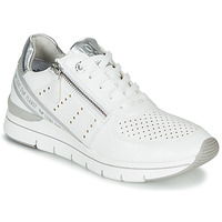 Cipők Női Rövid szárú edzőcipők Marco Tozzi 2-23723 Fehér