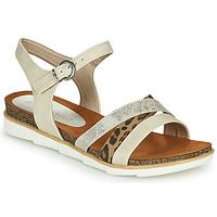 Cipők Női Szandálok / Saruk Marco Tozzi 2-28410 Bézs