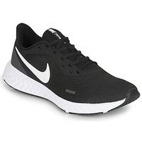Cipők Férfi Futócipők Nike REVOLUTION 5 Fekete  / Fehér