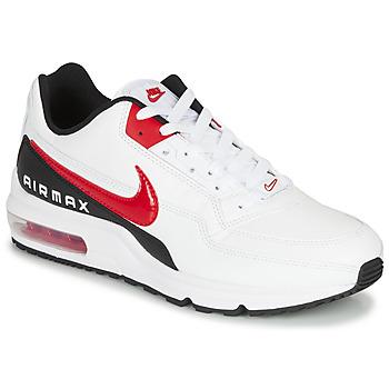Cipők Férfi Rövid szárú edzőcipők Nike AIR MAX LTD 3 Fehér / Fekete  / Piros