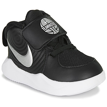 Cipők Gyerek Multisport Nike TEAM HUSTLE D 9 TD Fekete  / Ezüst