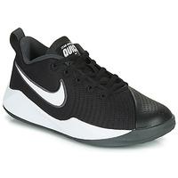 Cipők Gyerek Multisport Nike TEAM HUSTLE QUICK 2 GS Fekete  / Fehér