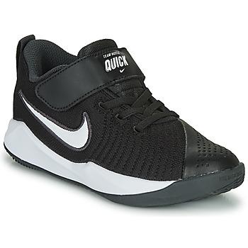 Cipők Gyerek Multisport Nike TEAM HUSTLE QUICK 2 PS Fekete  / Fehér