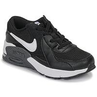 Cipők Gyerek Rövid szárú edzőcipők Nike AIR MAX EXCEE PS Fekete  / Fehér