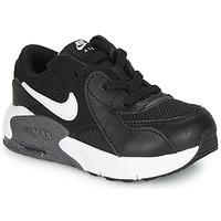 Cipők Gyerek Rövid szárú edzőcipők Nike AIR MAX EXCEE TD Fekete  / Fehér