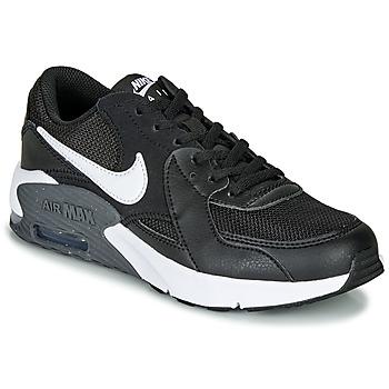 Cipők Gyerek Rövid szárú edzőcipők Nike AIR MAX EXCEE GS Fekete  / Fehér