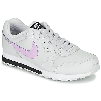 Cipők Lány Rövid szárú edzőcipők Nike MD RUNNER GS Fehér / Rózsaszín