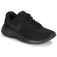 Cipők Gyerek Rövid szárú edzőcipők Nike TANJUN GS Fekete
