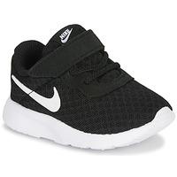 Cipők Gyerek Rövid szárú edzőcipők Nike TANJUN TD Fekete  / Fehér