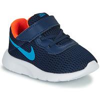 Cipők Fiú Rövid szárú edzőcipők Nike TANJUN TD Kék