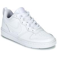 Cipők Gyerek Rövid szárú edzőcipők Nike COURT BOROUGH LOW 2 GS Fehér