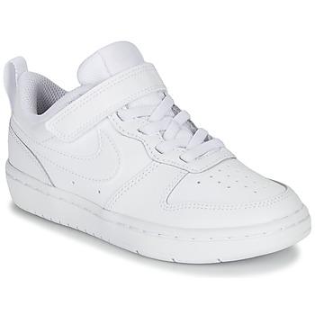 Cipők Gyerek Rövid szárú edzőcipők Nike COURT BOROUGH LOW 2 PS Fehér